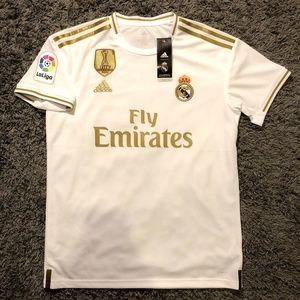 Eden Hazard Real Madrid Home Jersey La Liga 19/20